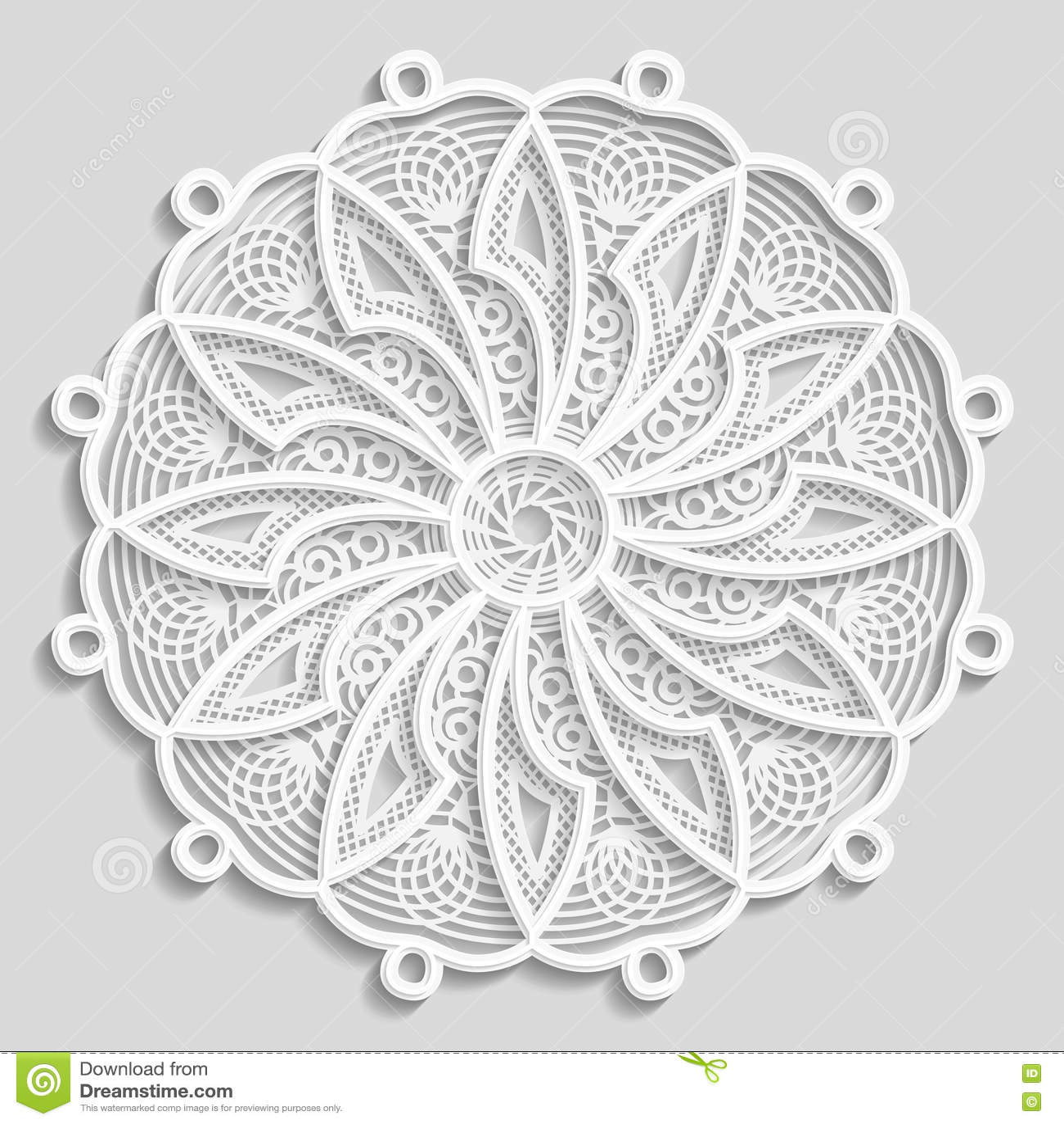 Lacy Paper Doily, Decorative Flower, Decorative Snowflake ...