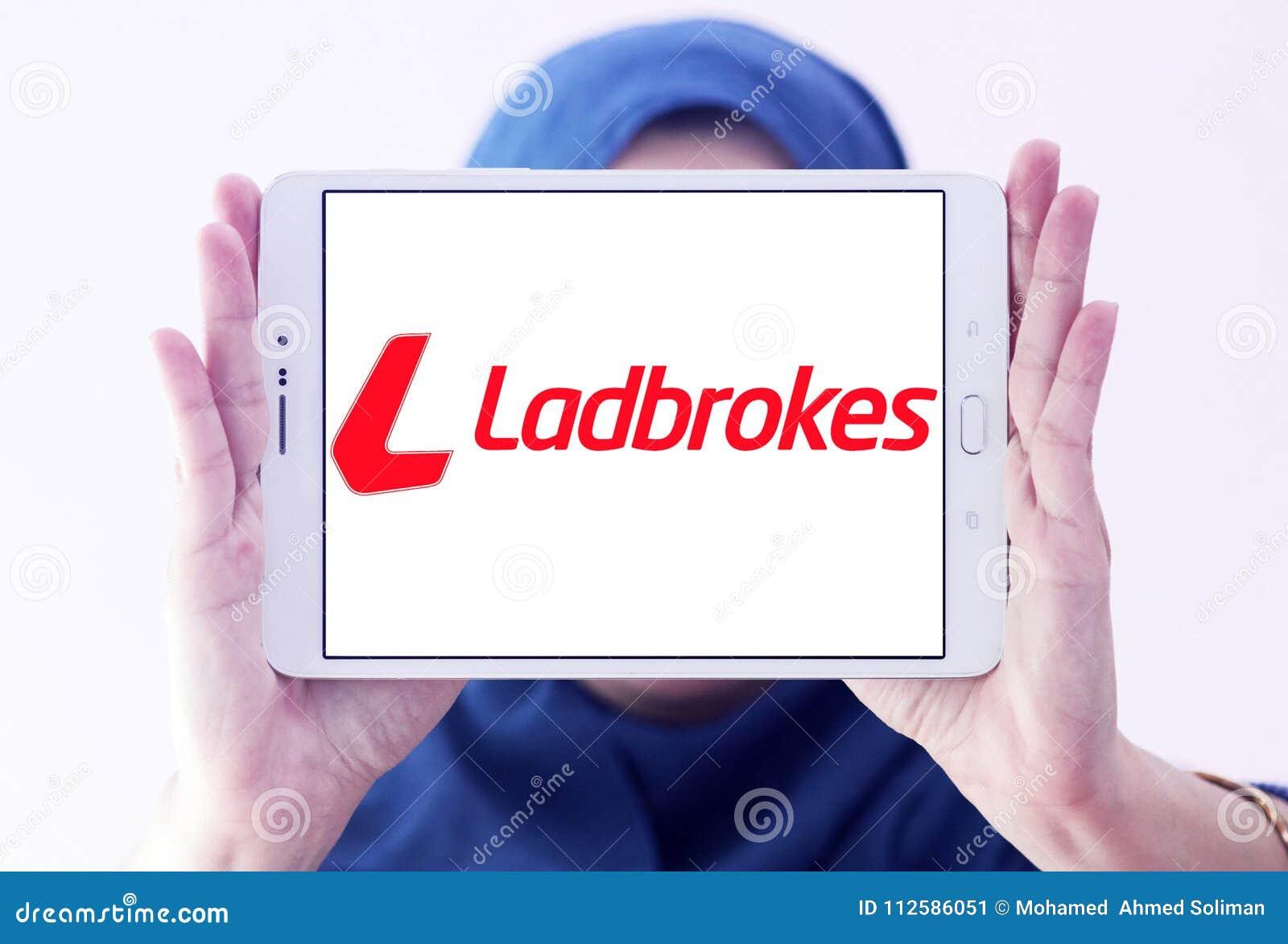 Ladbrokes company logo editorial photo  Image of company