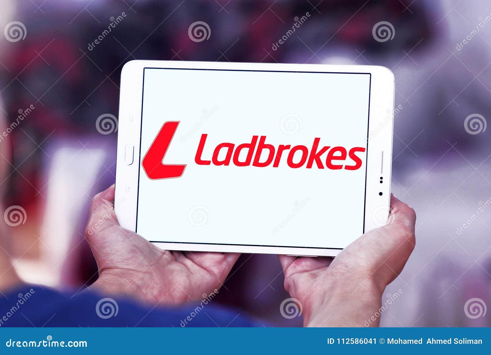 Ladbrokes company logo editorial photo  Image of icon