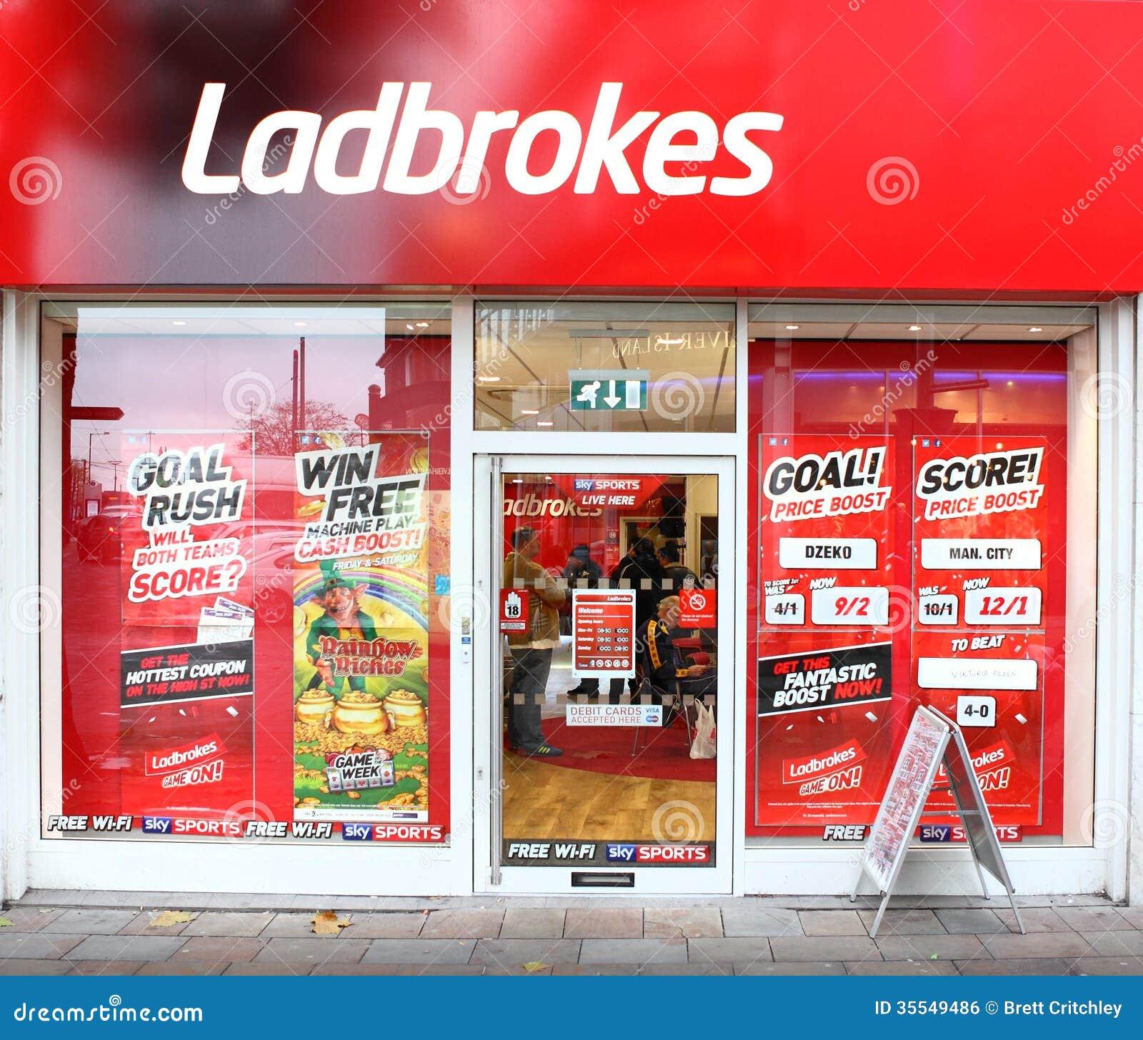 Ladbrokes uprawia hazard zakładający się firmy