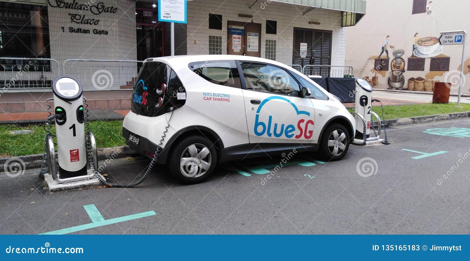 Laddande elkraft för bil