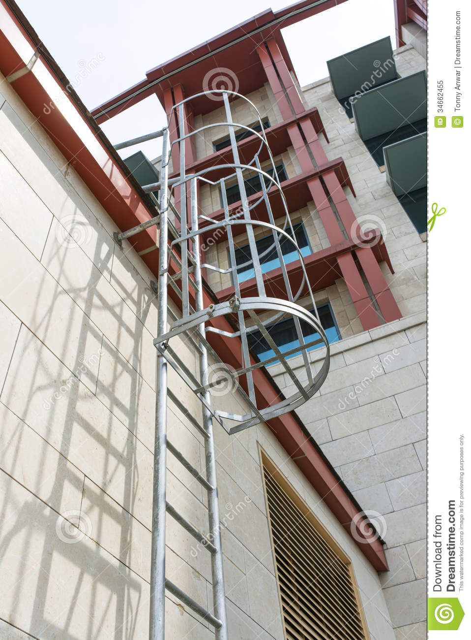 Ladder Access Royalty Free Stock Photo Image 34662455