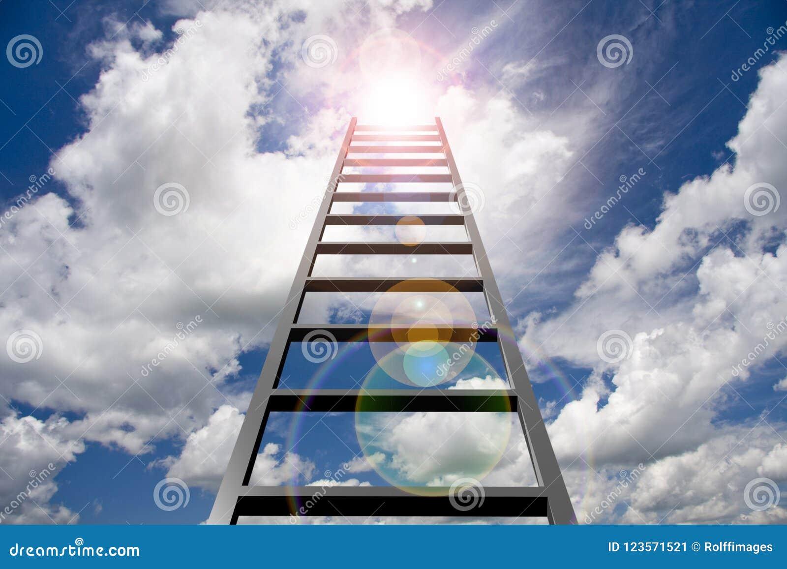 Ladder in hemel