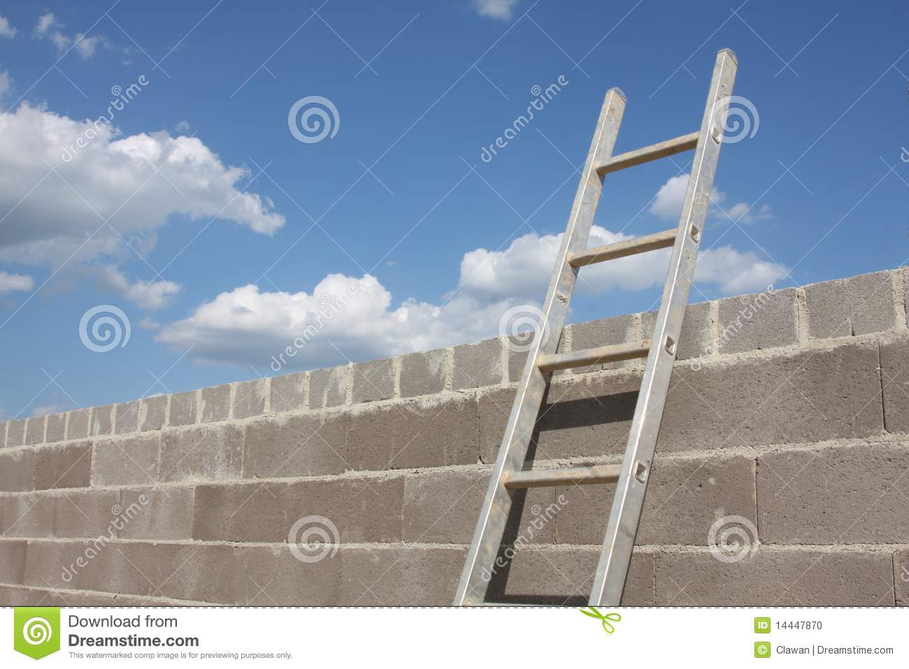 ladder on wall - photo #7