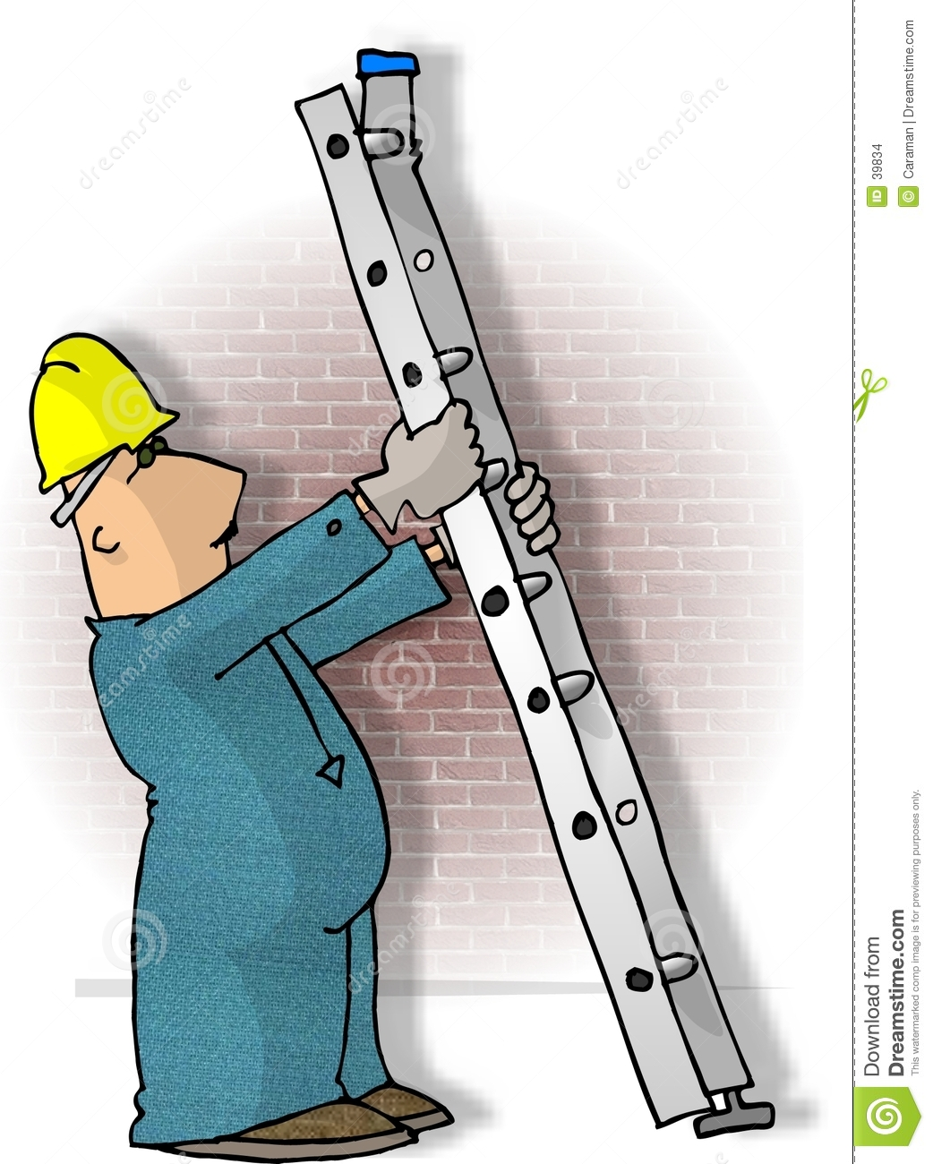 Ladder Safety Stock Images Image 39834