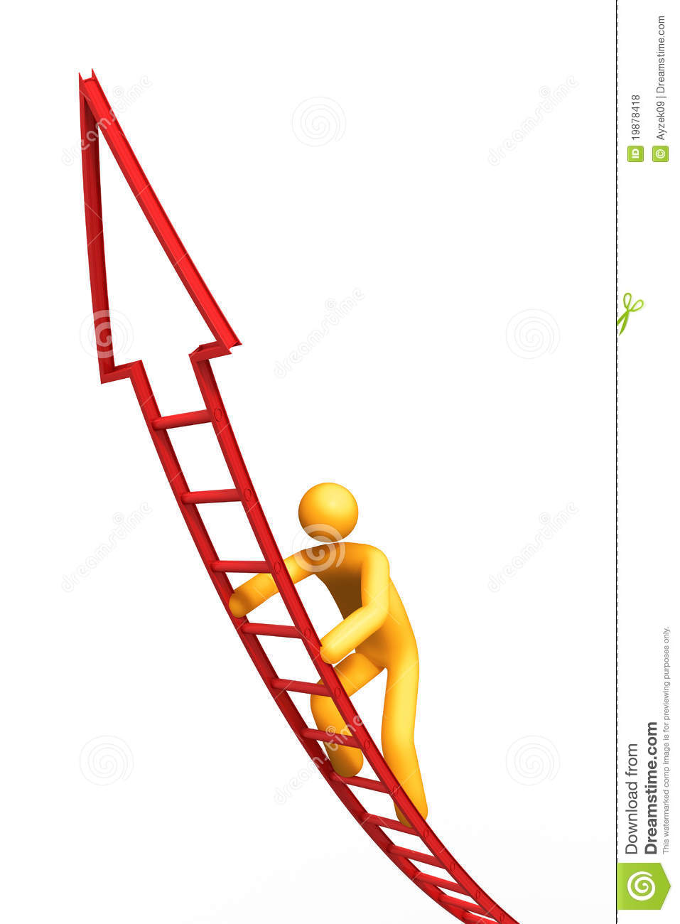 Ladder Of Success Royalty Free Stock Photos - Image: 19878418
