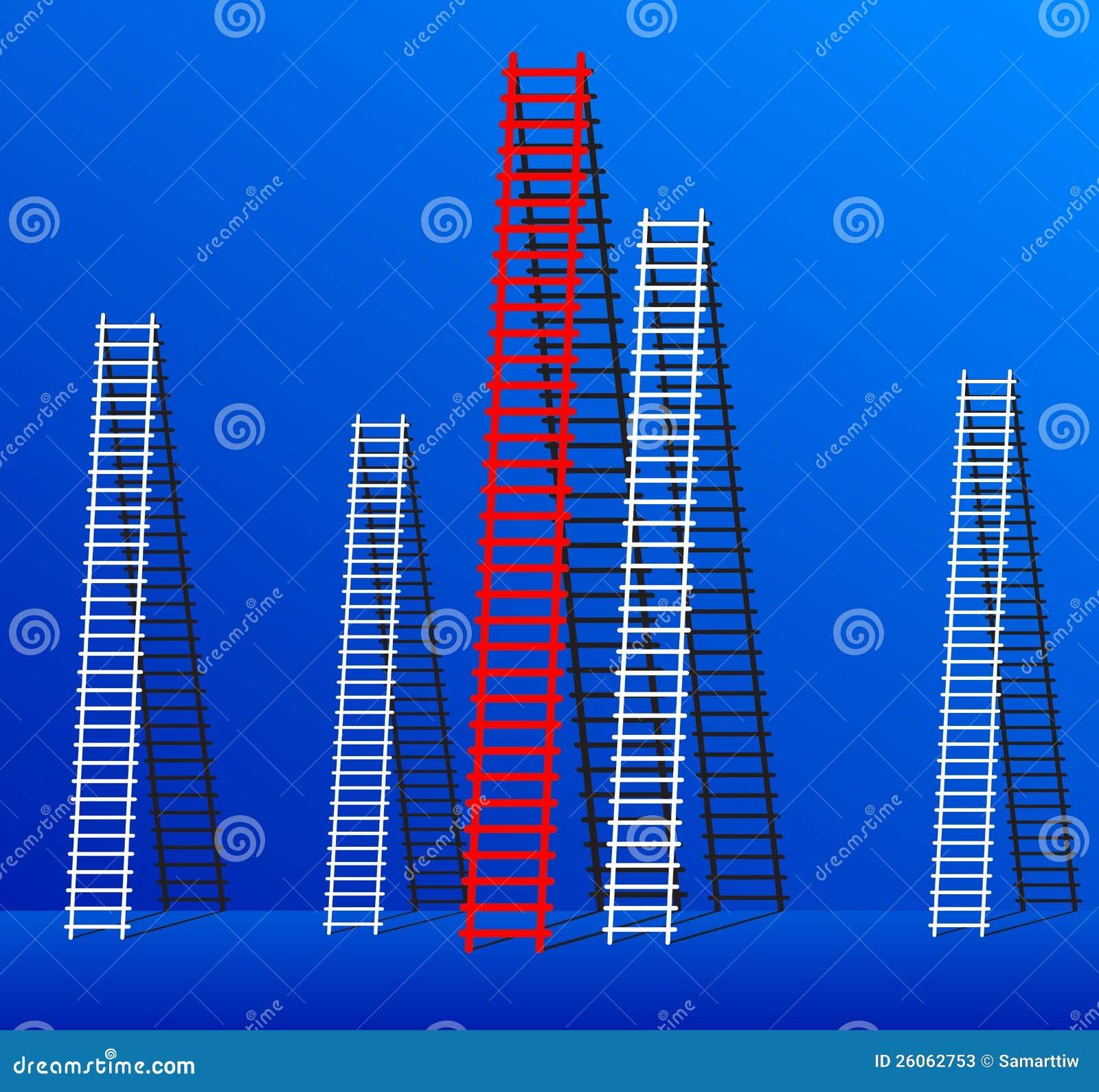 Ladder van succes.