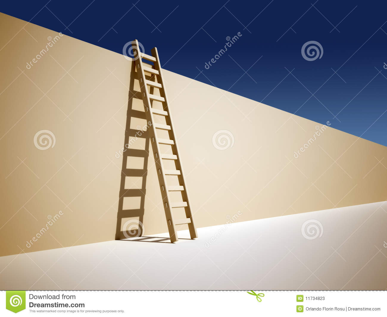 ladder on wall - photo #22