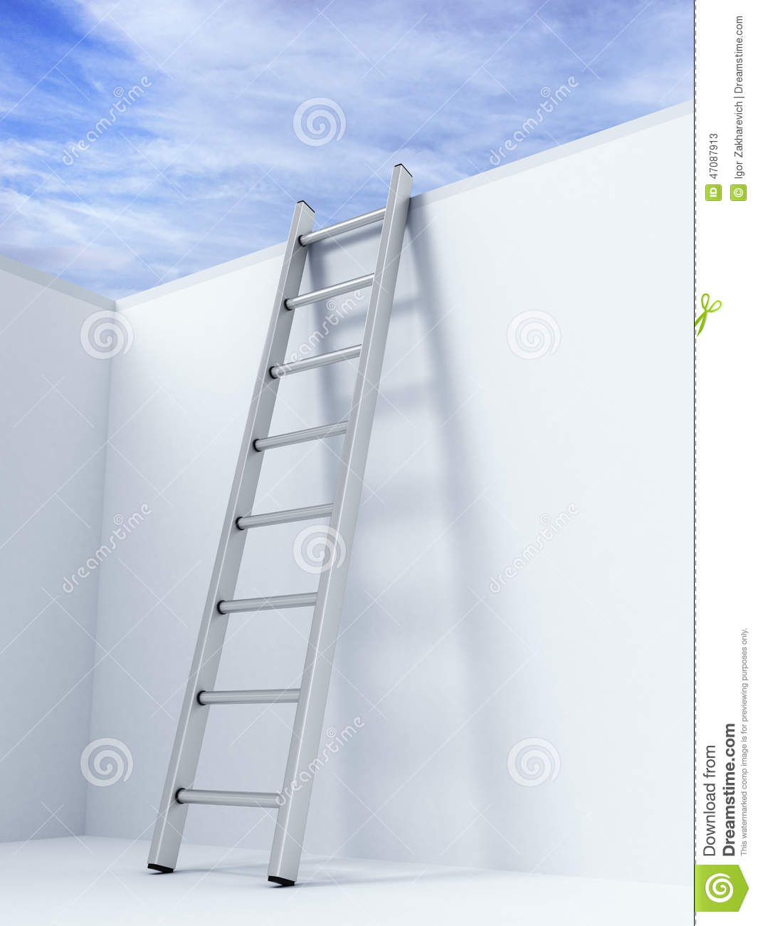 ladder on wall - photo #5