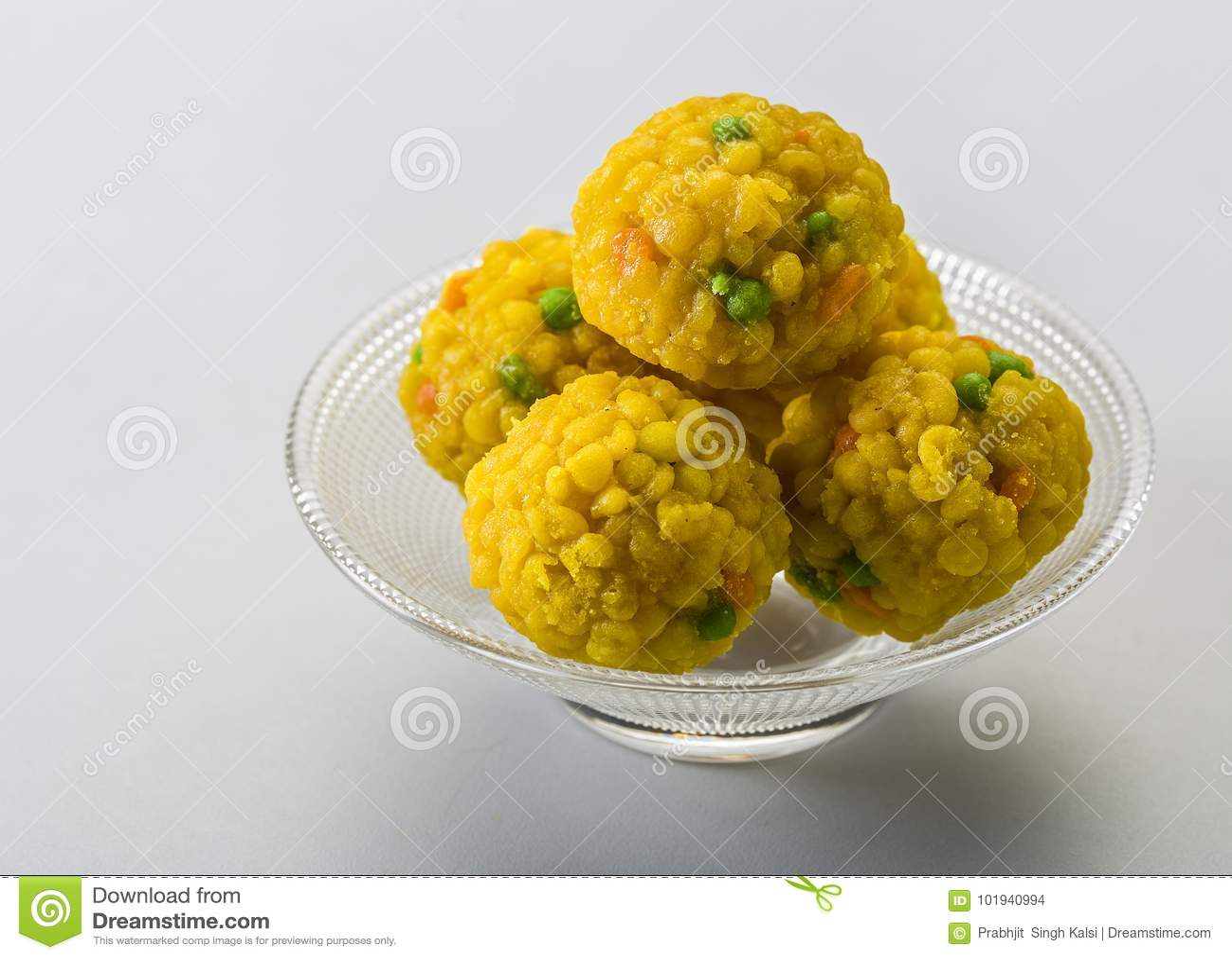 Laddu Or Laddoo Are Ball-shape...