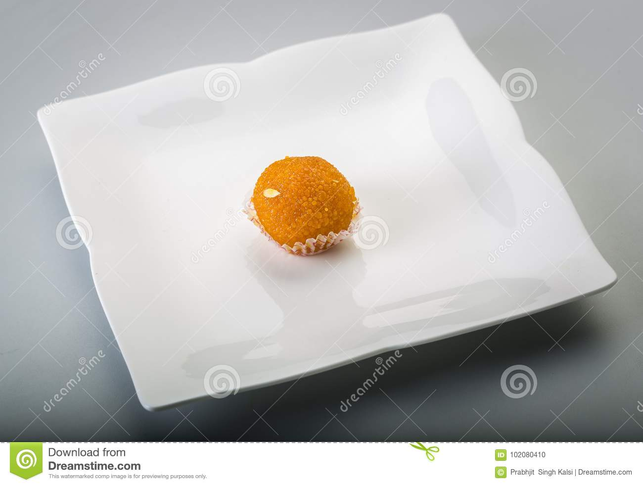 Laddu or laddoo or motichoor laddu