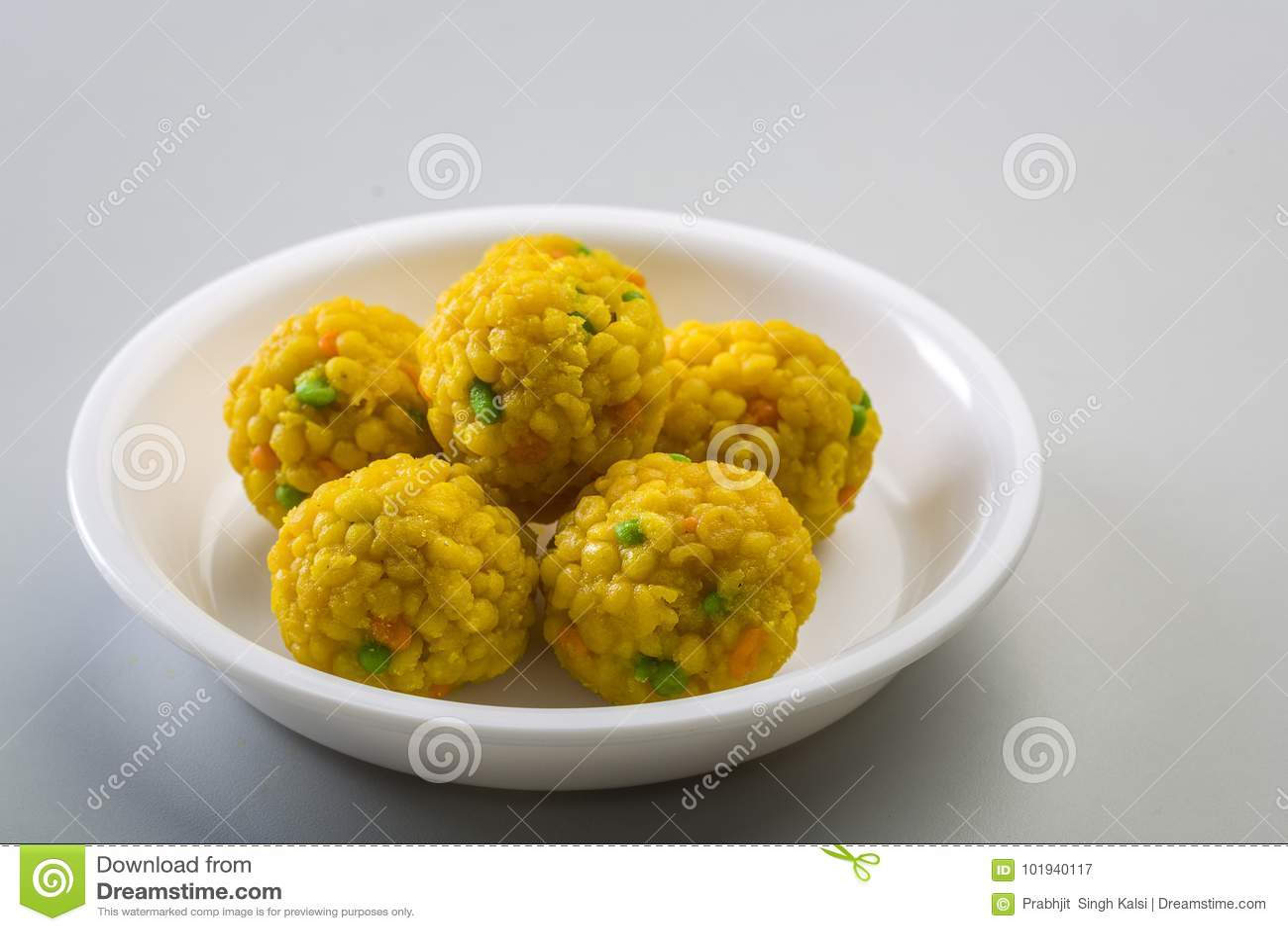 Laddu or laddoo or motichoor laddu