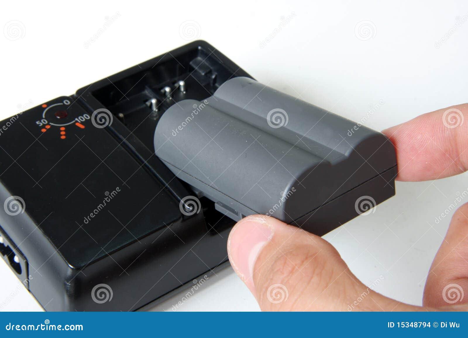 Laden Sie die Batterie auf