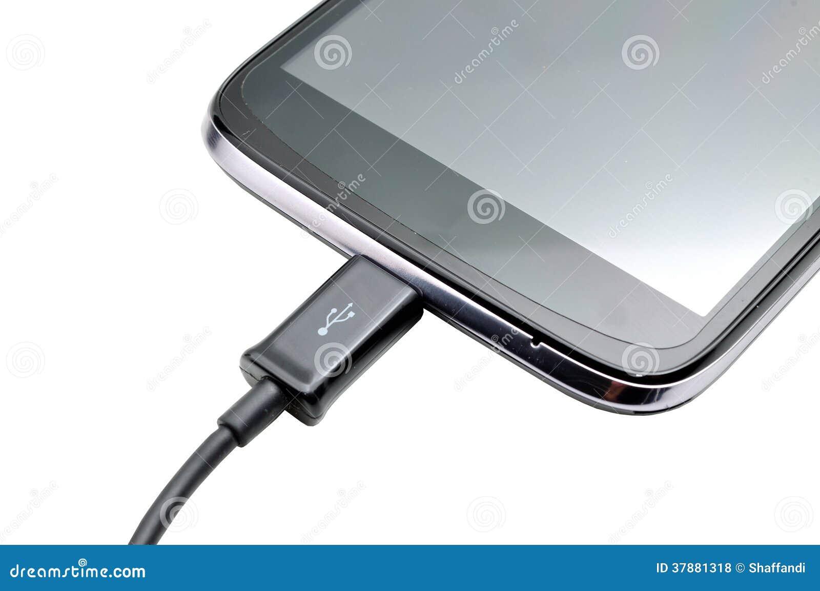 Ladende mobiele telefoon