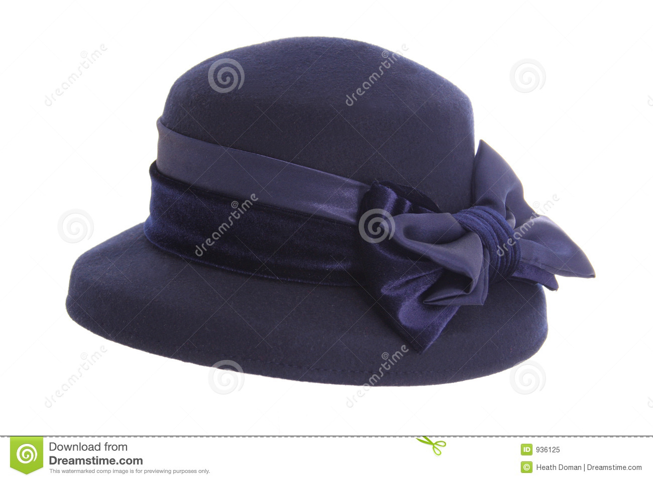 ladies blue hat stock image image of costume woman class 936125