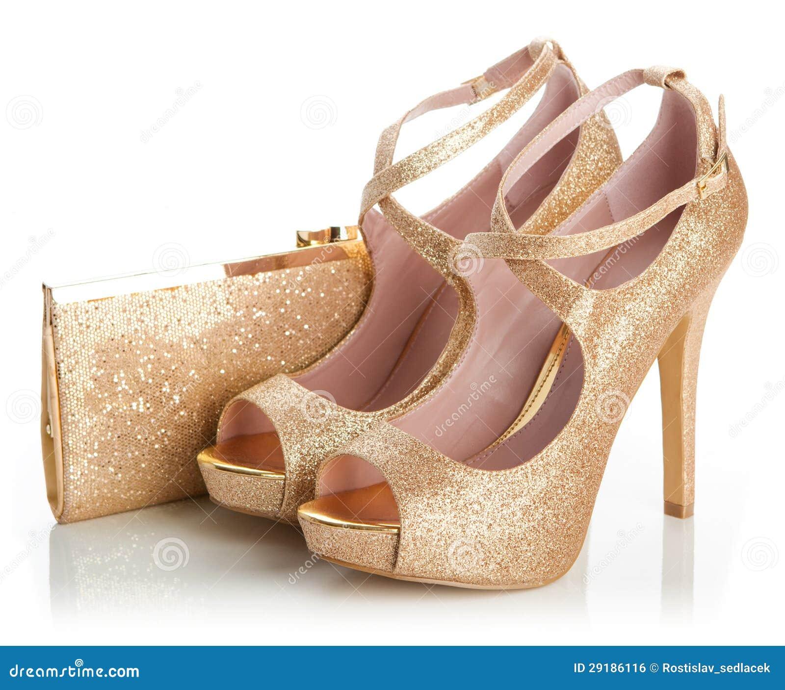 Crystal Gold Shoes | Gold Glitzy Shoes | Lemonade Shoes