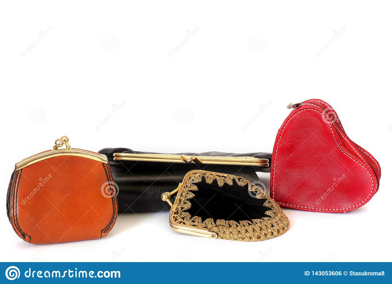 Ladies handbags. Ladies Wallet for little things. Many handbags. Style. Fashion. beauty