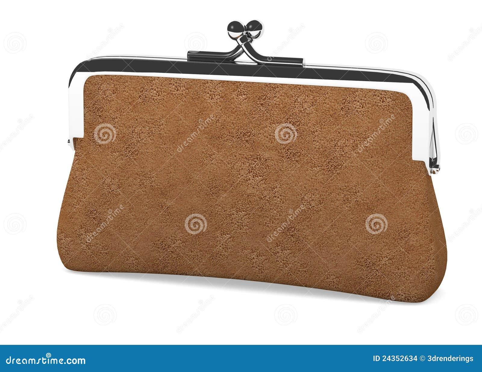 ladies money purse stock images image 24352634