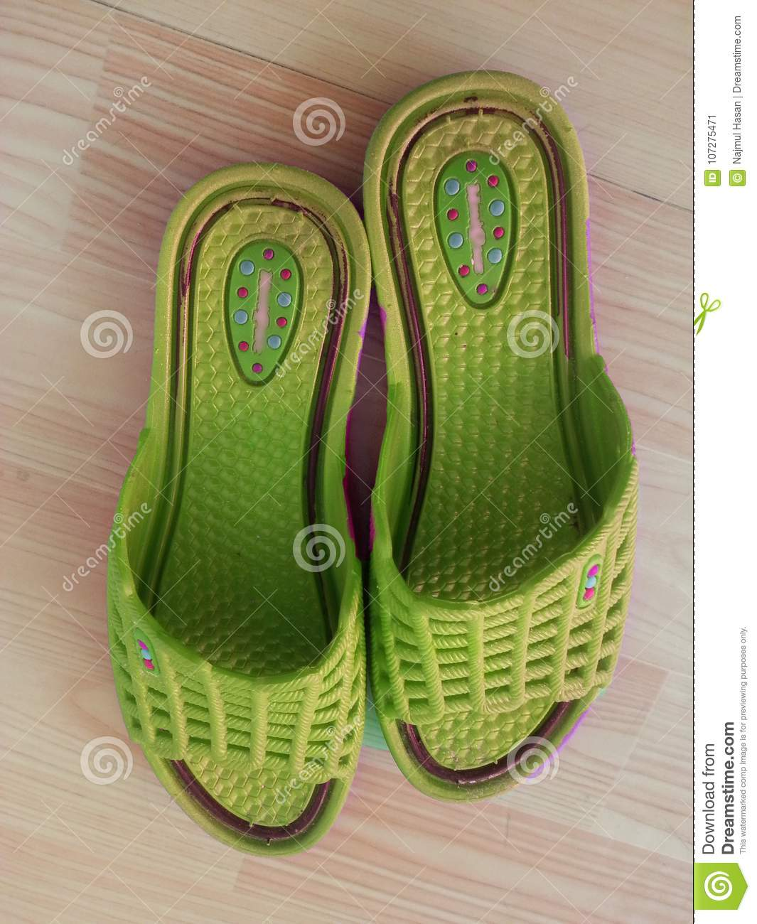 Ladies sandals or chappal for casual wearing at home