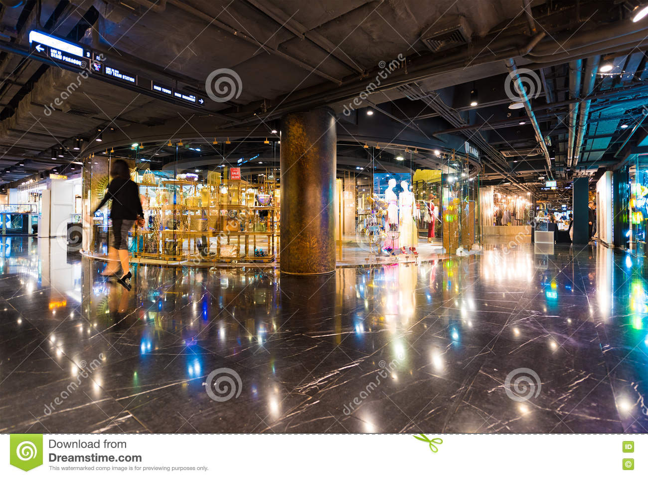 ee53831408 BANGKOK - MARCH 17, 2016 : A view at the Tango store in the Siam Center. It  was built in 1973 and was one of Bangkoks first shopping malls.