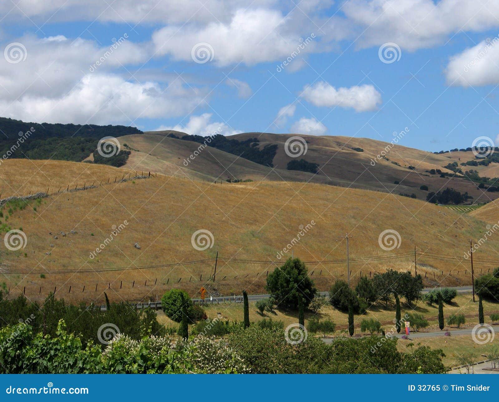 Lado do monte de Sonoma