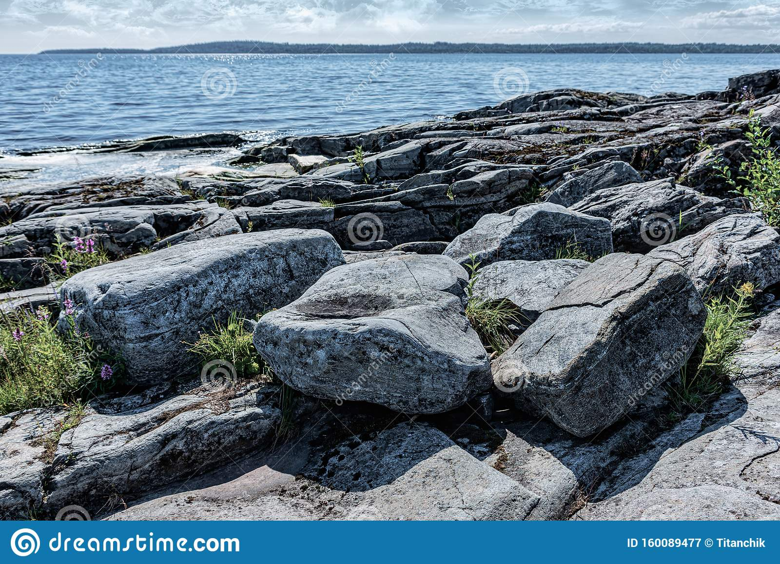 Ladoga Lake- Visit The National Park Stock Image - Image ...