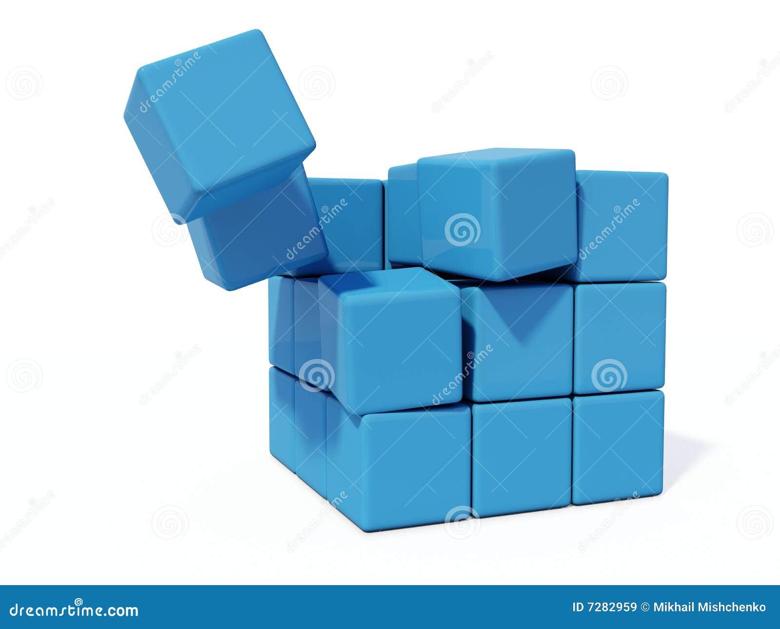 Ladrillos azules