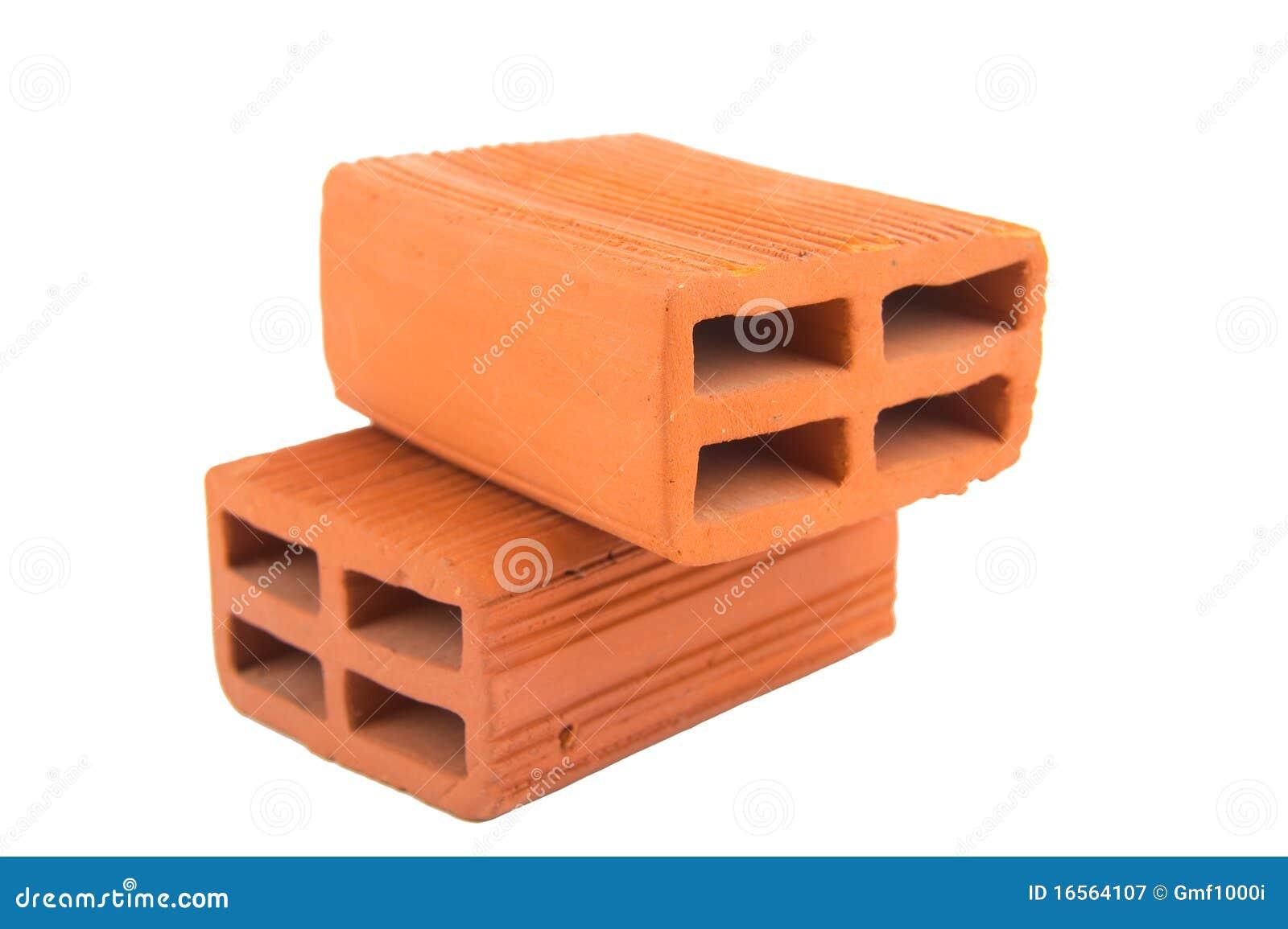 Ladrillos de la arcilla del concepto de la construcci n - Precios de ladrillos para construccion ...
