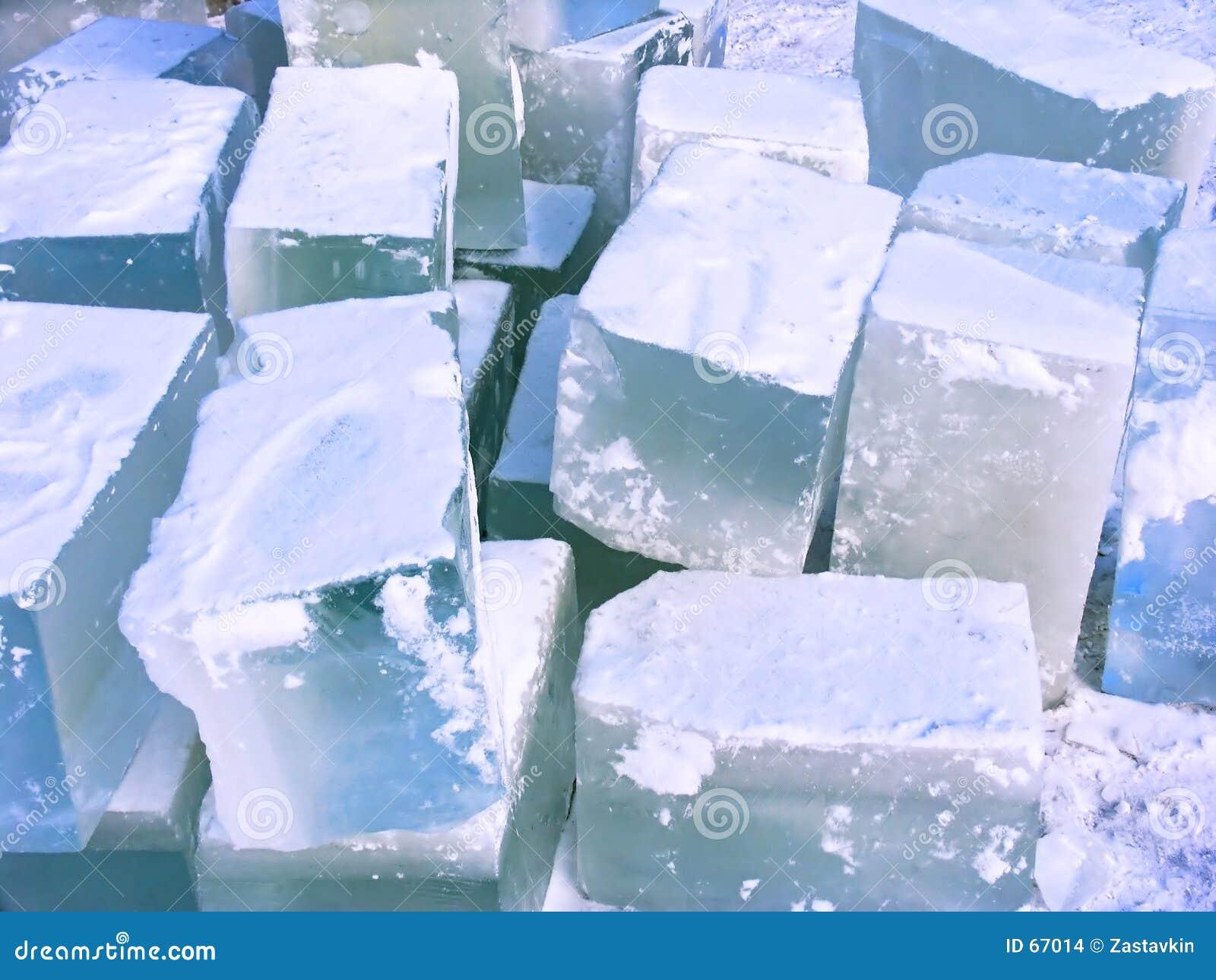 Ladrillos del hielo