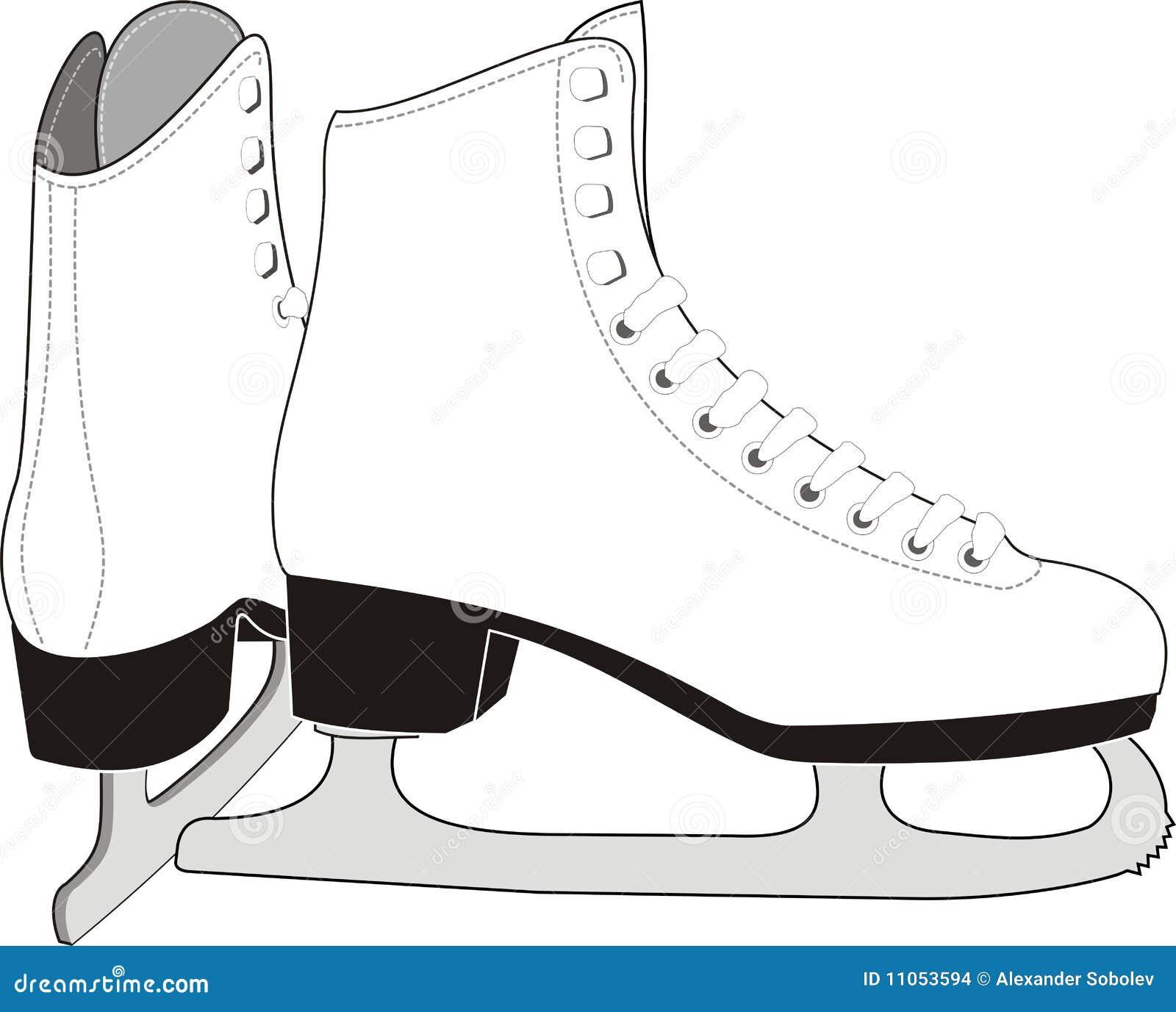 Lady's Ice Skates
