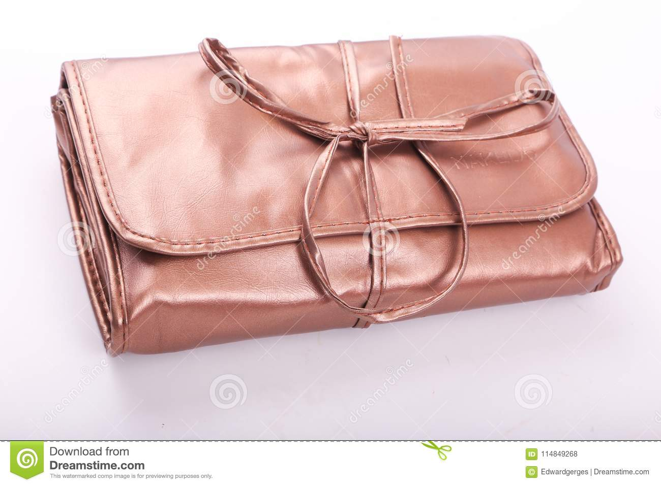 46f2583c30 Lady brown bag stock photo. Image of background