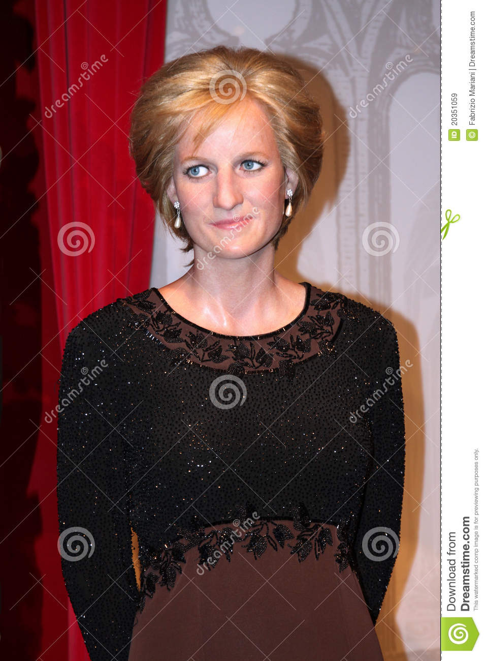 Lady Diana at Madame Tussaud s