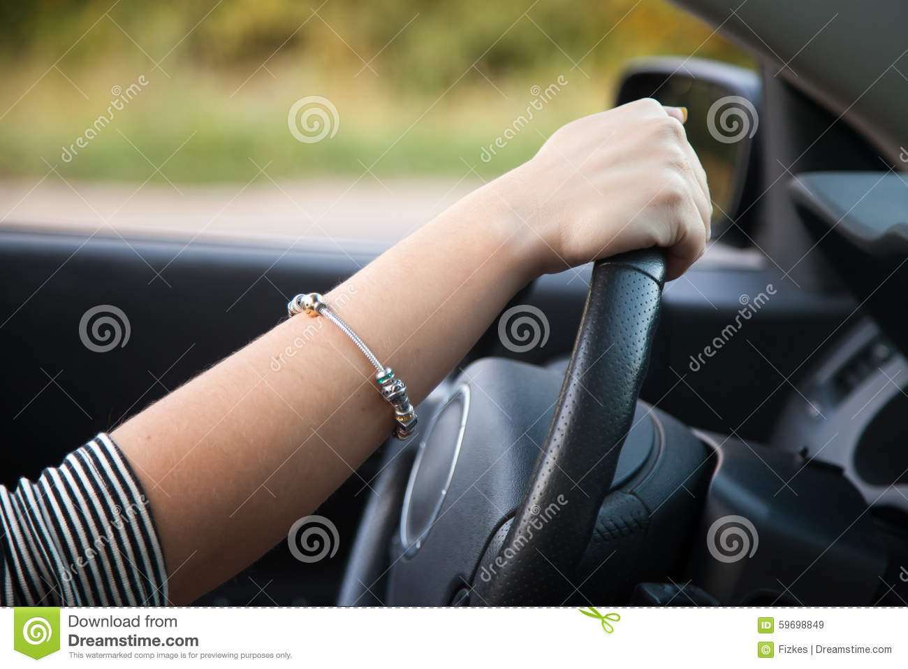 Asian Lady Driving 108