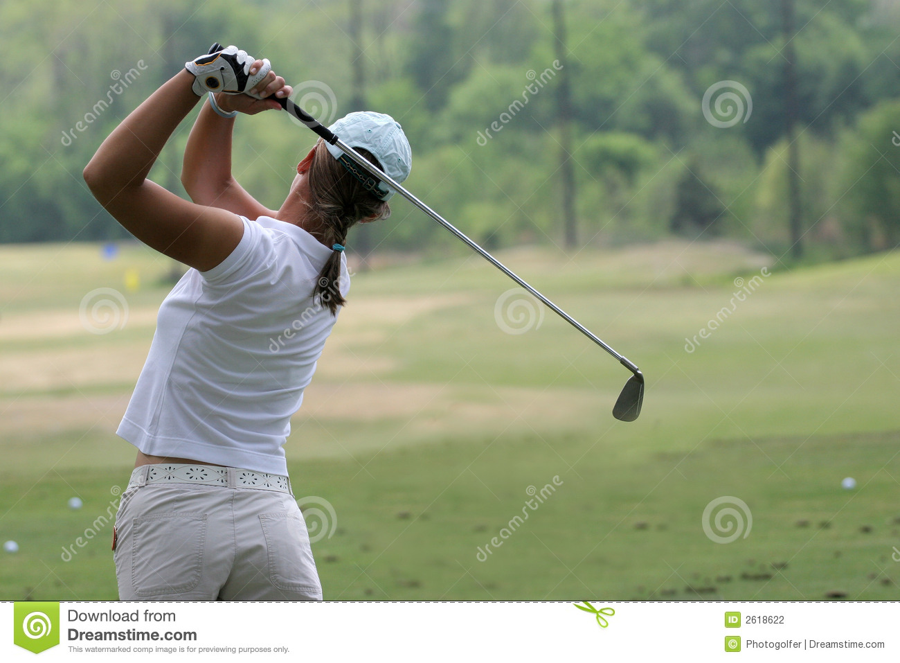 Lady Golf Swing Stock Photography - Image: 2618622 Relaxing Dog Music Audio