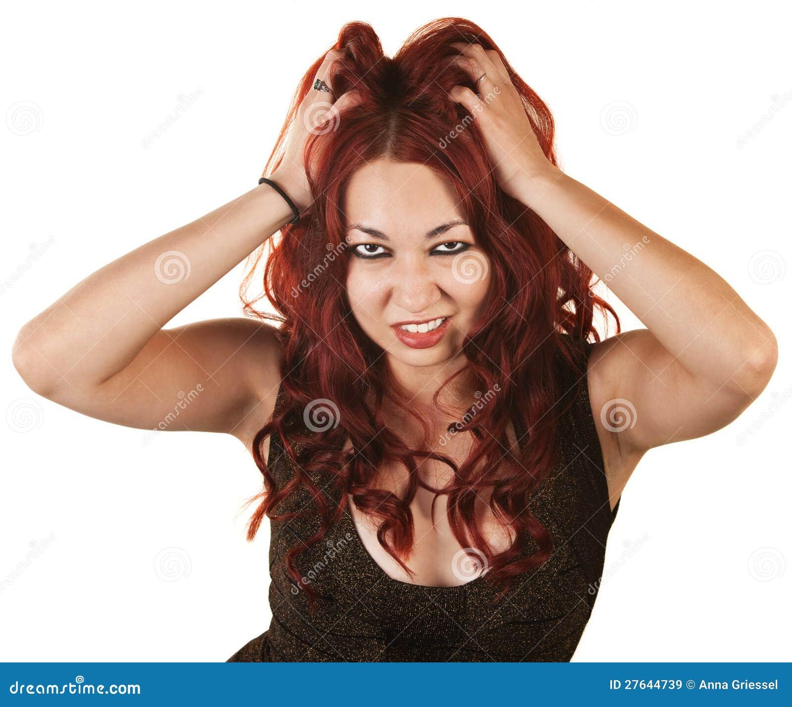 Схватила ее за волосы 2 фотография