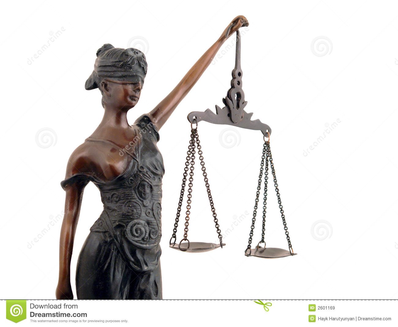 Lady Justice Royalty Free Stock Images - Image: 2601169