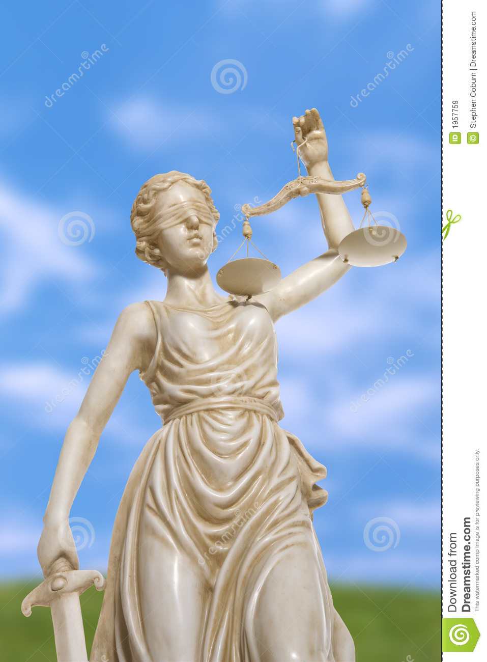 Lady Justice Statue Royalty Free Stock Images - Image: 1957759