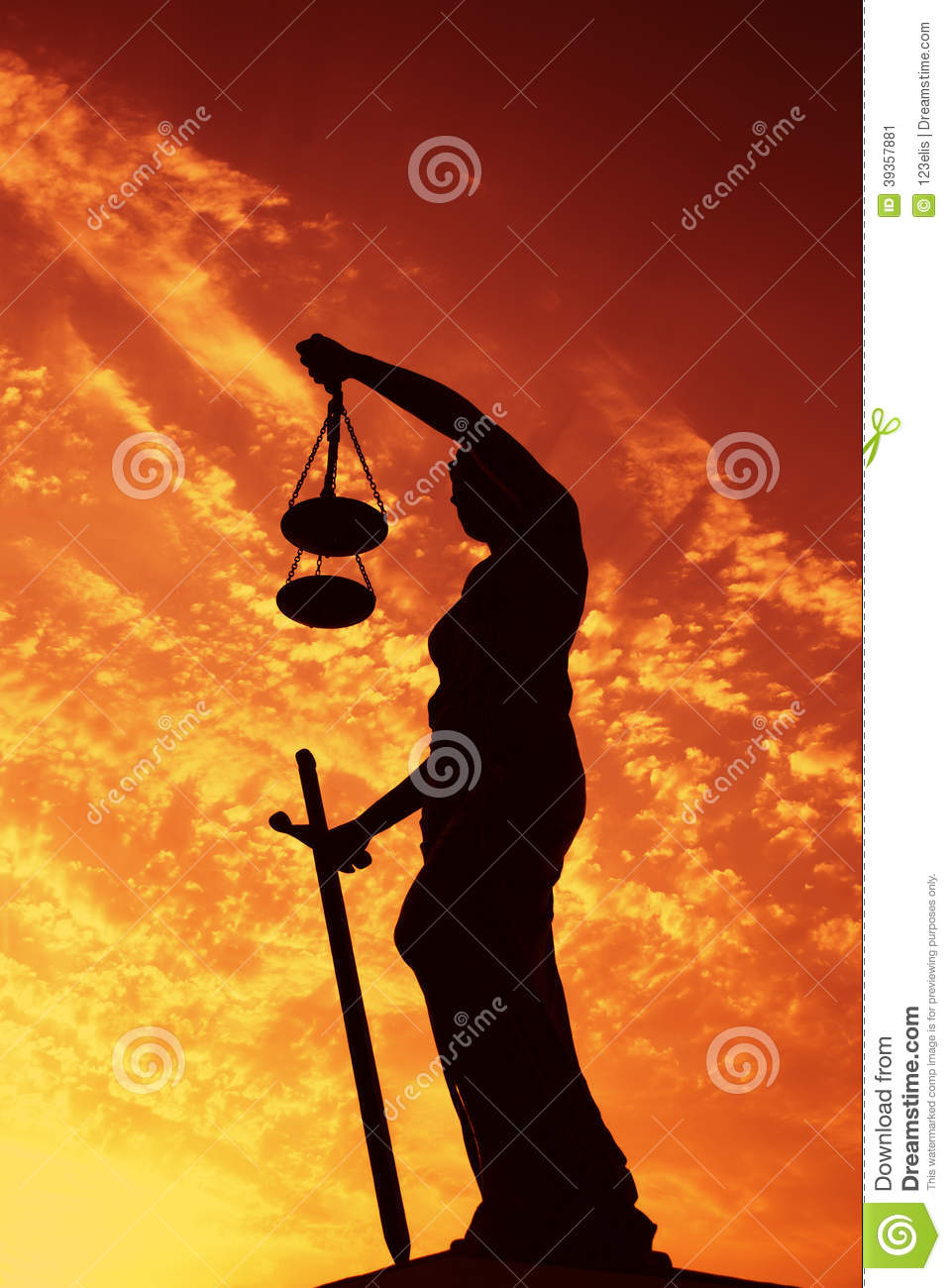 Lady Justice Stock Photo Image 39357881