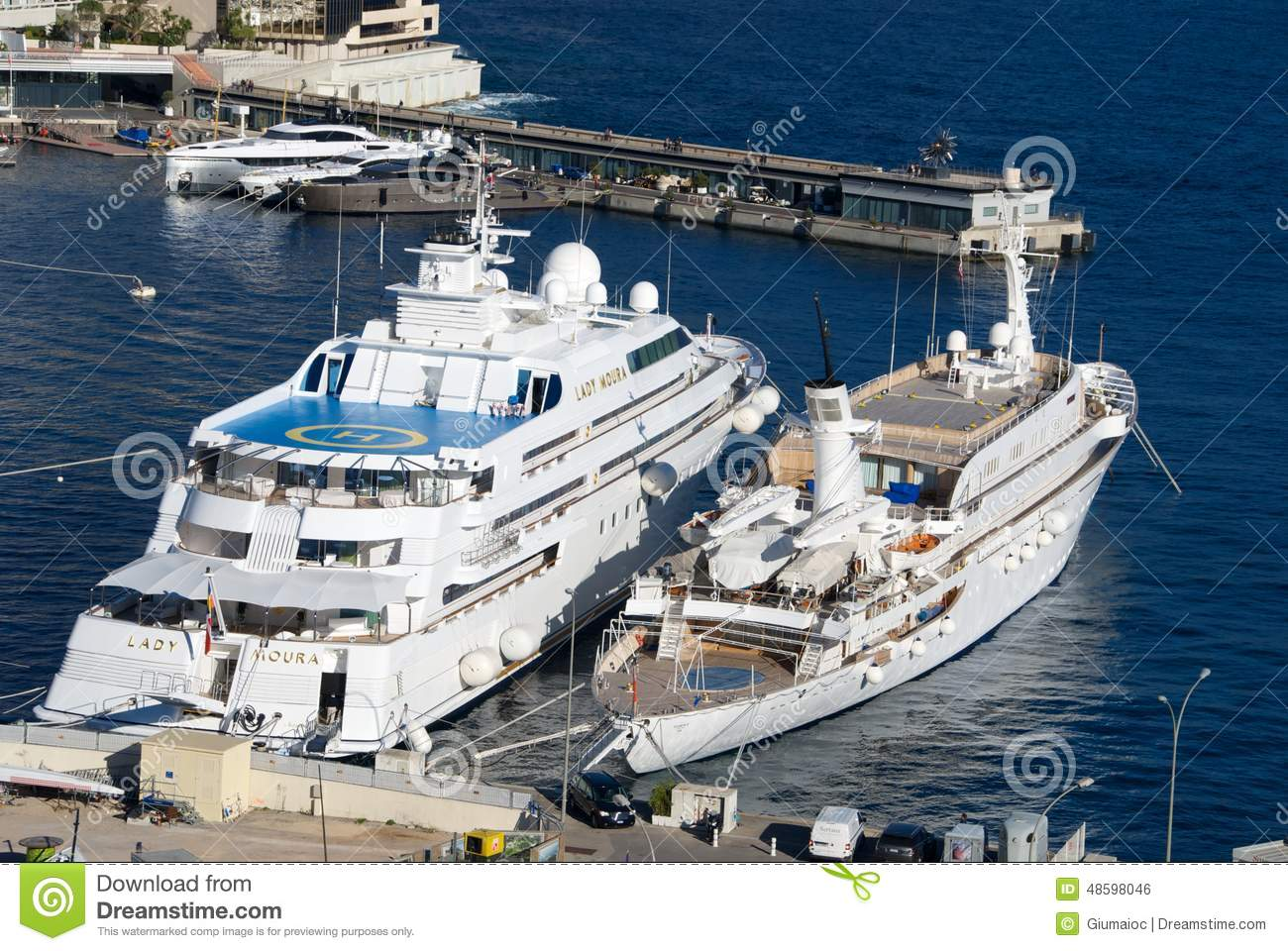 Lady Moura At Montecarlo Editorial Photo Image Of Ocean 48598046