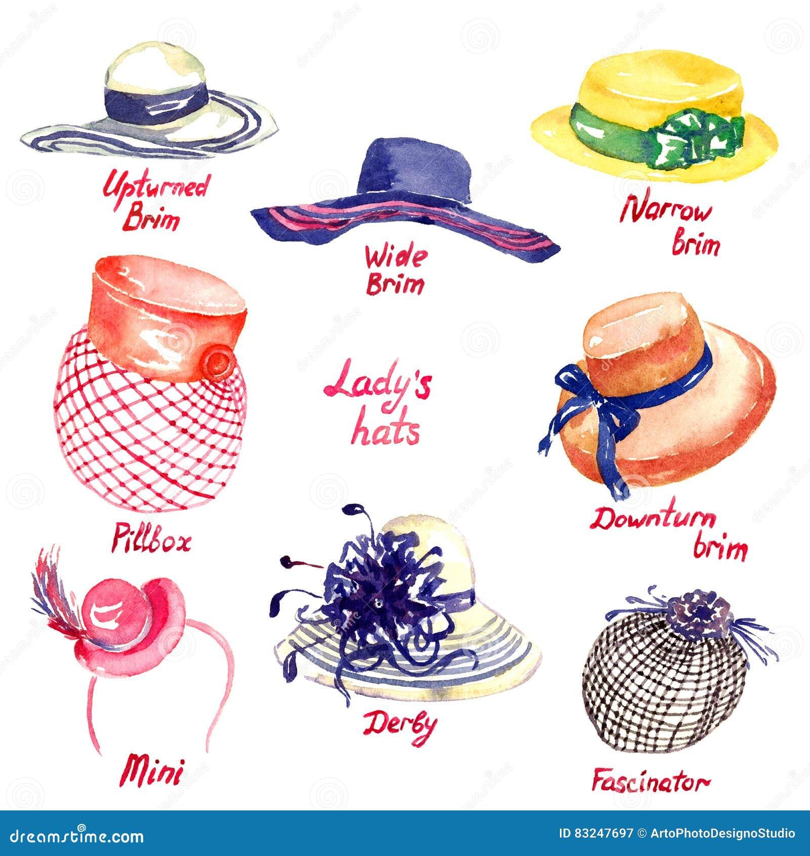 7895e82c3fad0 Derby Hats Stock Illustrations – 116 Derby Hats Stock Illustrations ...
