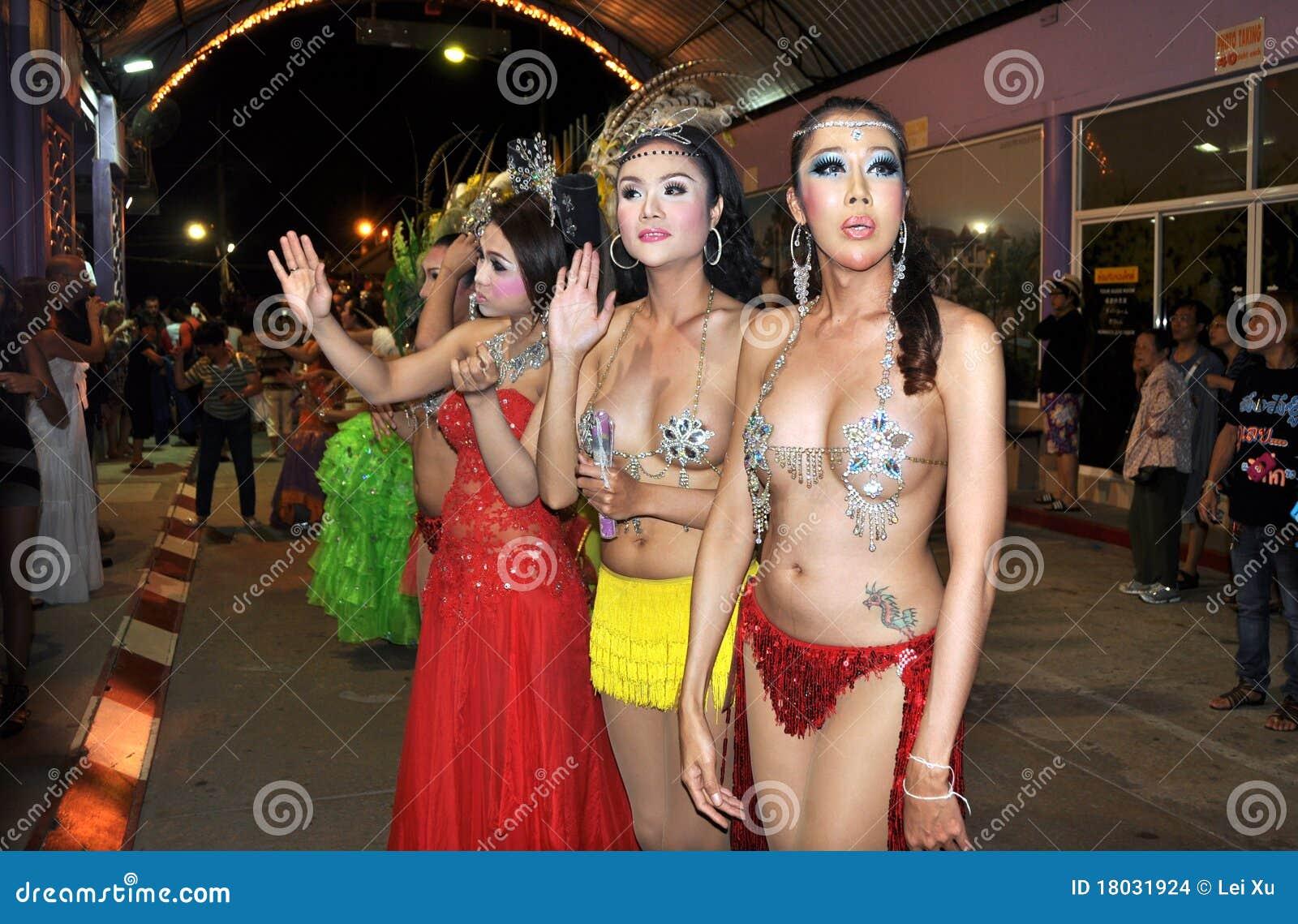 Thailand lady boy