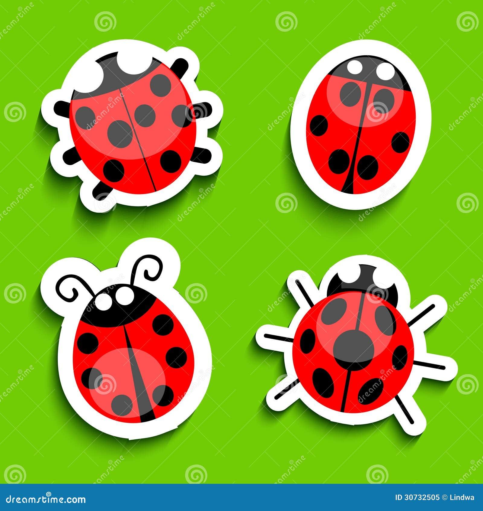 green ladybug clipart - photo #50