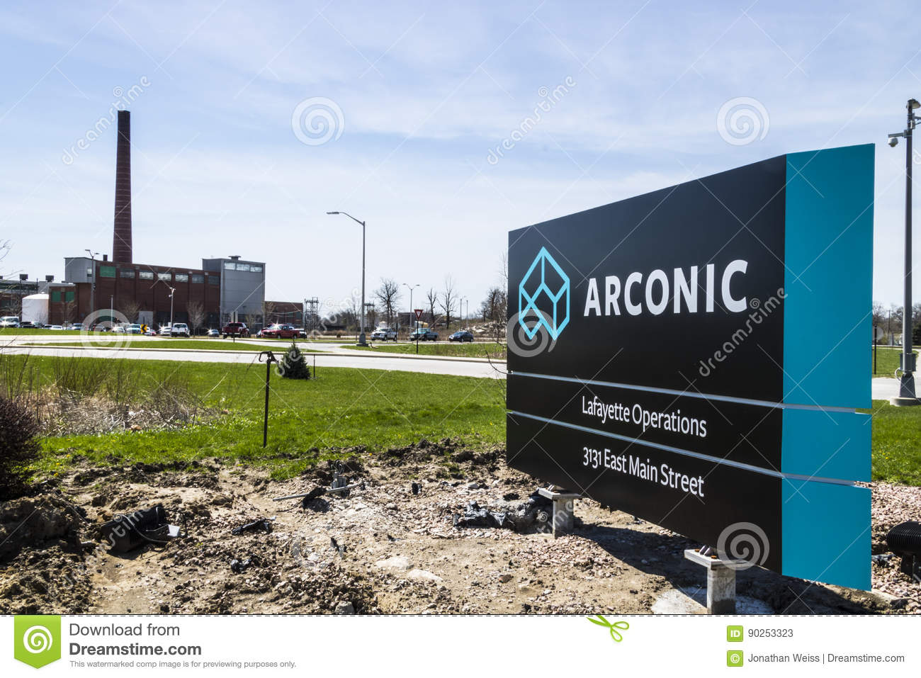 Lafayette - Circa April 2017: Arconic Forging And Extrusion Plant