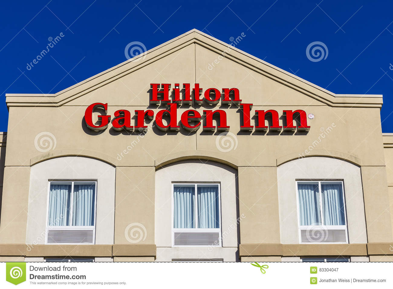 Download Lafayette   Circa December 2016: Hilton Garden Inn Hotel. Hilton  Hotels And Resorts