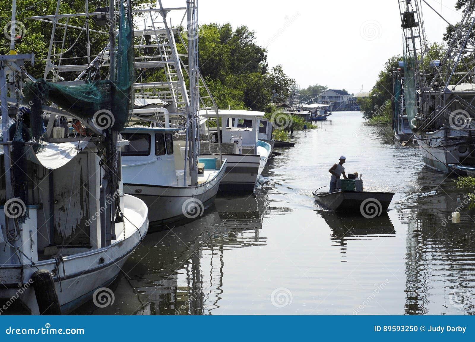 Lafitte多沼泽的支流