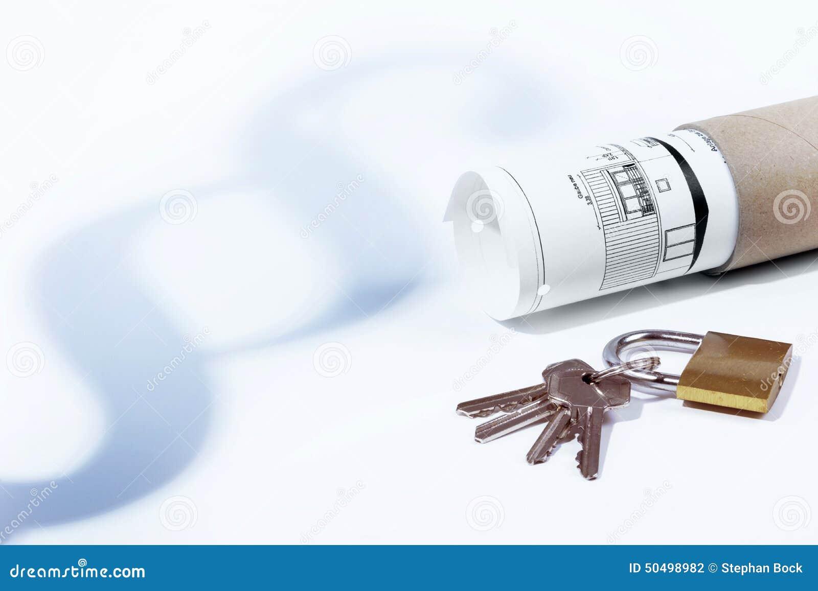 Lag, avsnitt, förhyrninglag, hänglås och tangenter, byggnadslag, konstruktionsplan