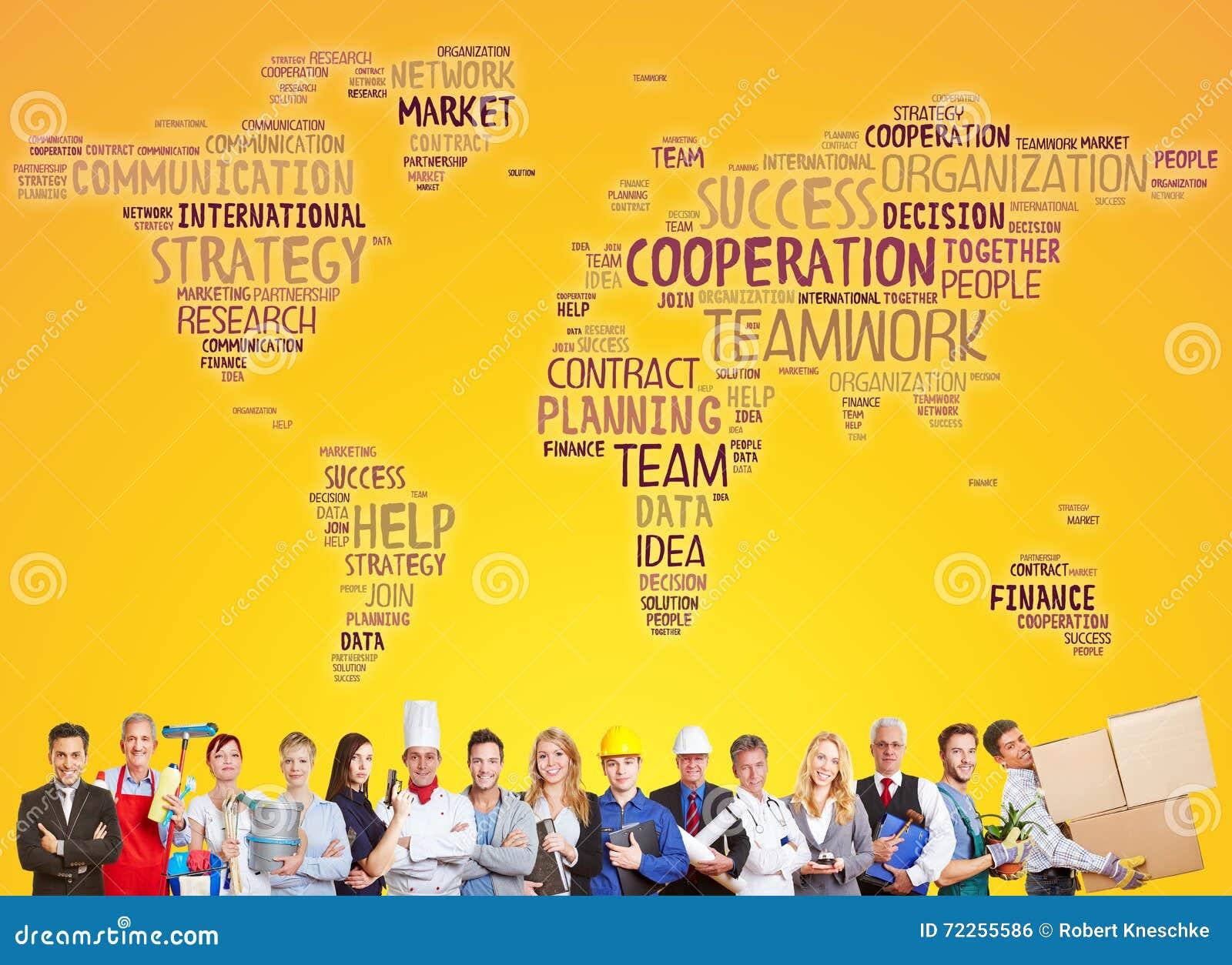 Lag för internationellt samarbete och framgång