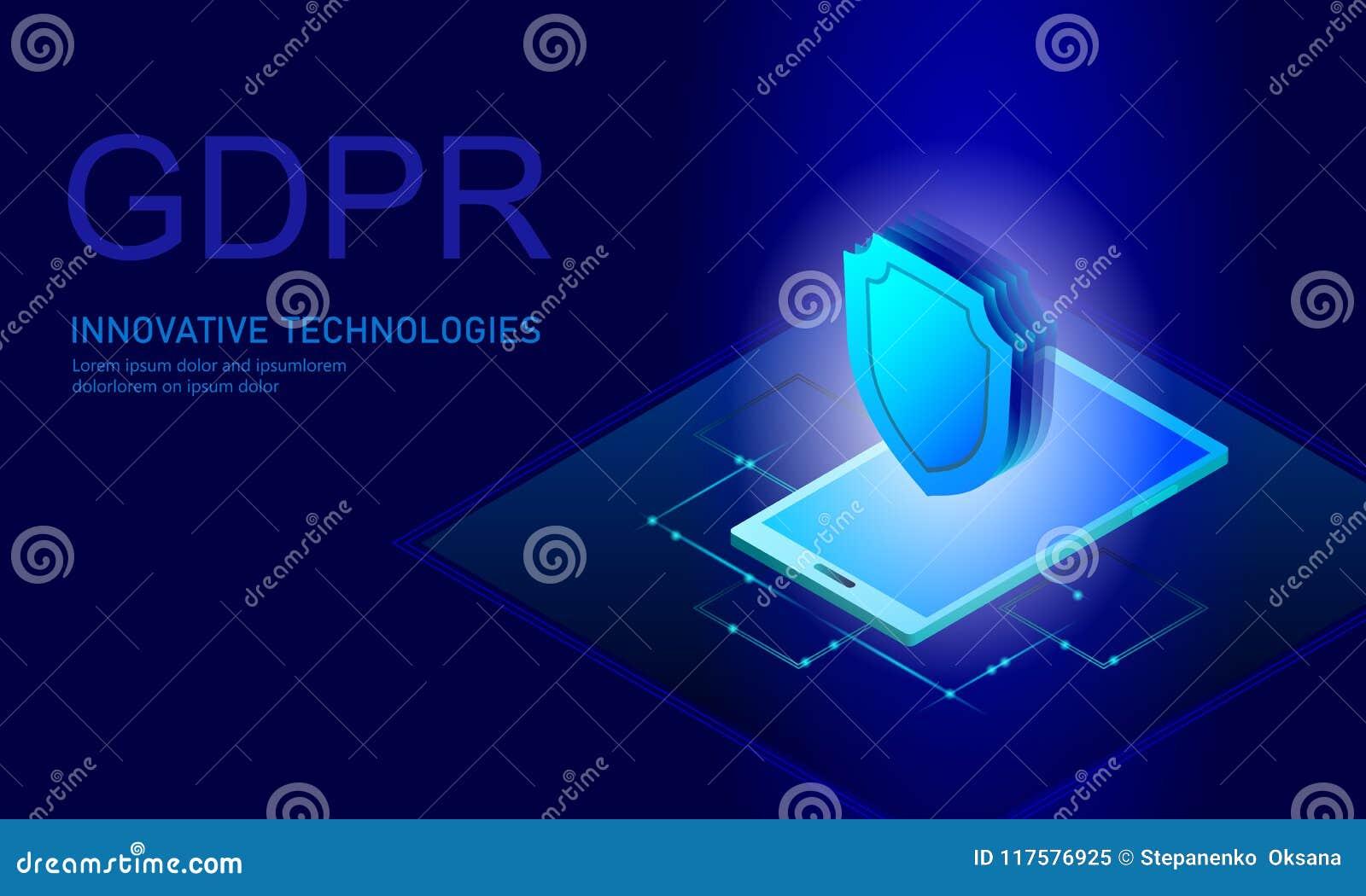 Lag GDPR för avskildhetsdataskydd Union för sköld för säkerhet för känslig information om datareglering europeisk Var rakt till