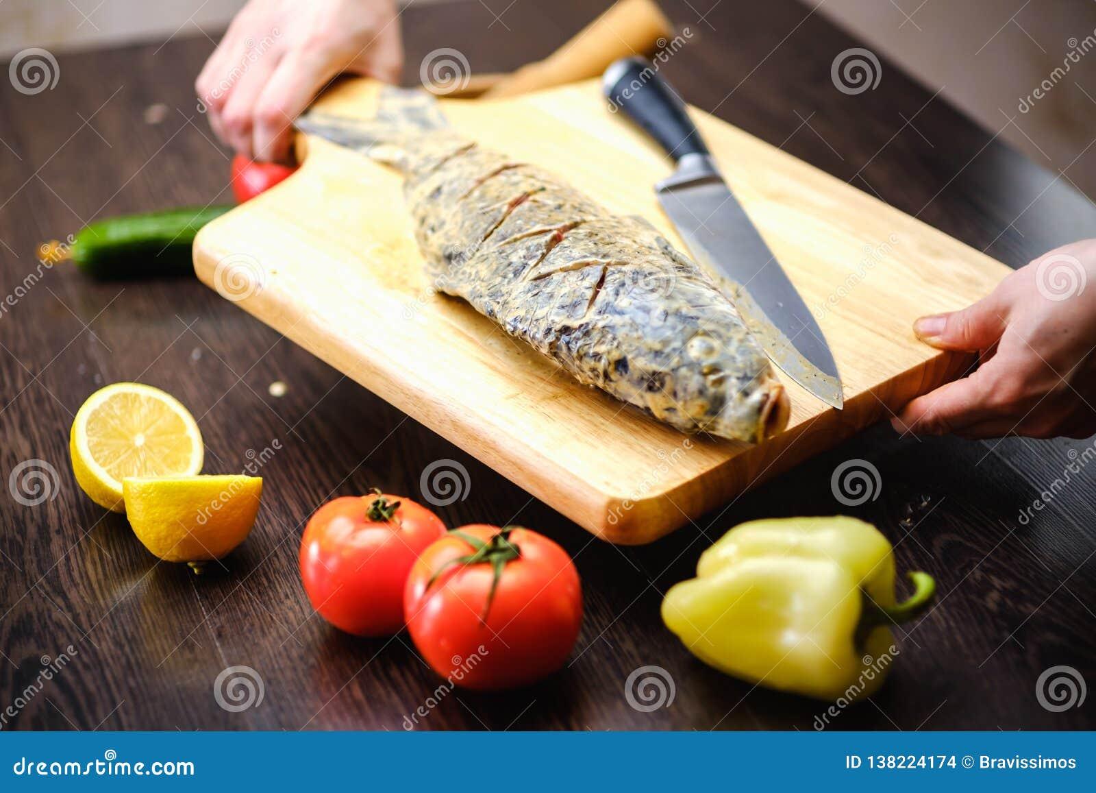 Laga mat för ny mat för fiskkarp boaen