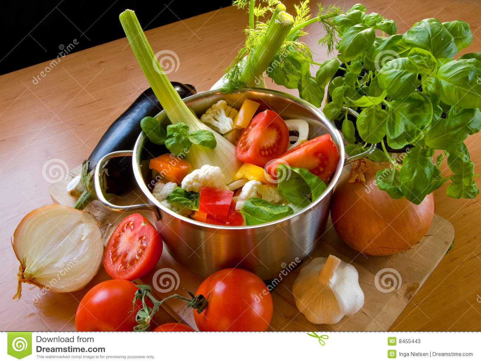 Laga mat krukagrönsaker